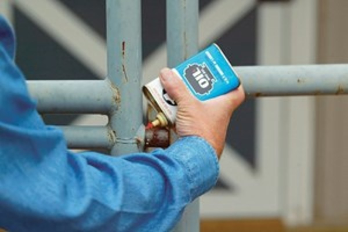 Evaluate the condition of all hinges and gates. A few drops of oil can help keep them moving freely.