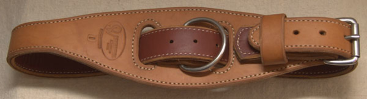 Hobbling is a time-honored and inexpensive way of keeping a horse contained.