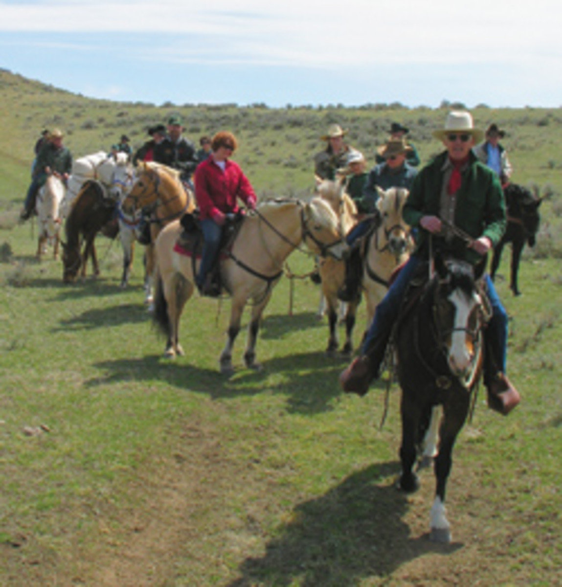 Like Chaucer's Pilgrims, most riders itch to get onto the trail in the spring. But spring can be two-sided for trail riders. Along with its joys, there are hazards and cautions. | Photos by Dan Aadland