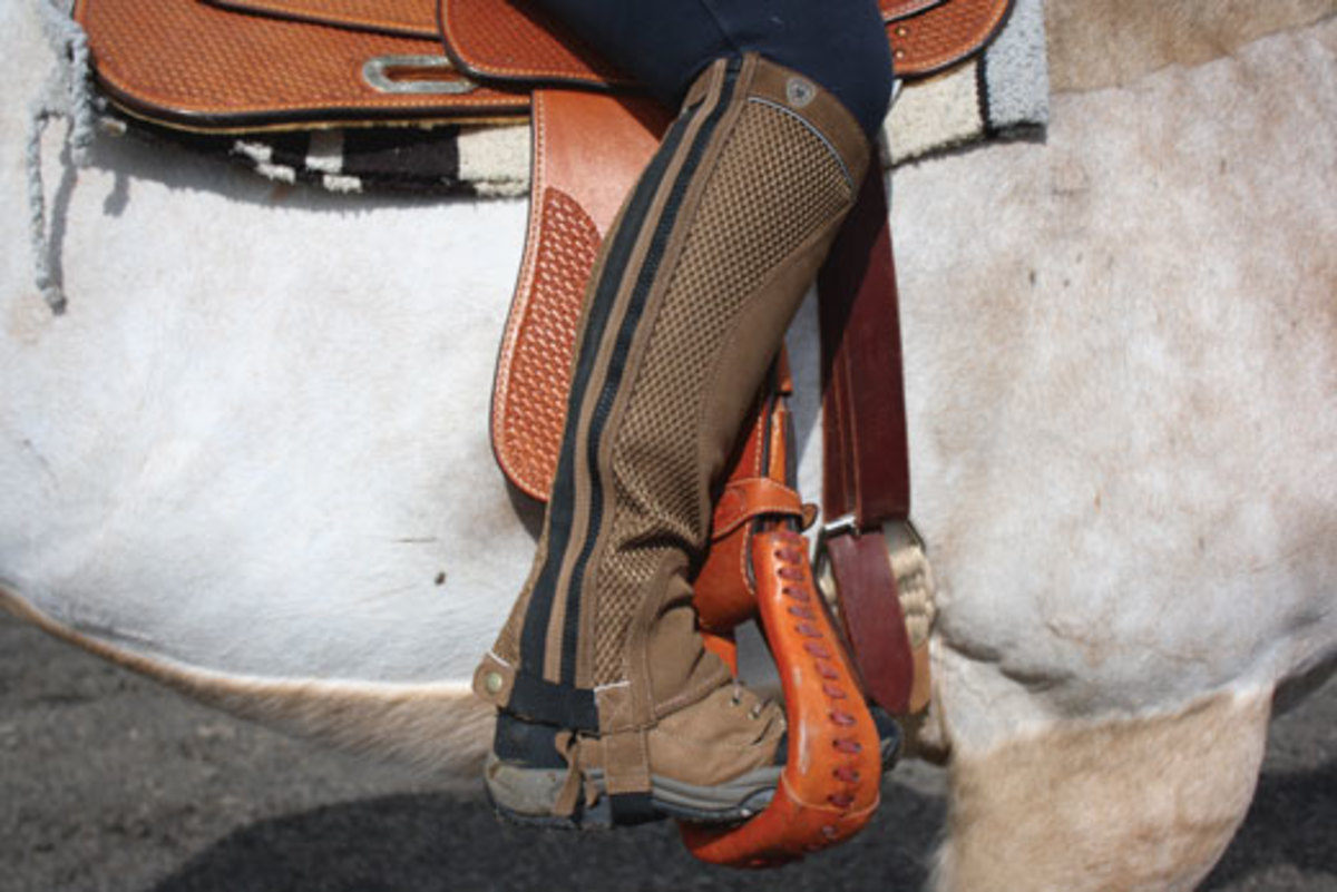 Endurance Riding Gear: Ariat Terrain Boots and Ariat Half Chaps ...