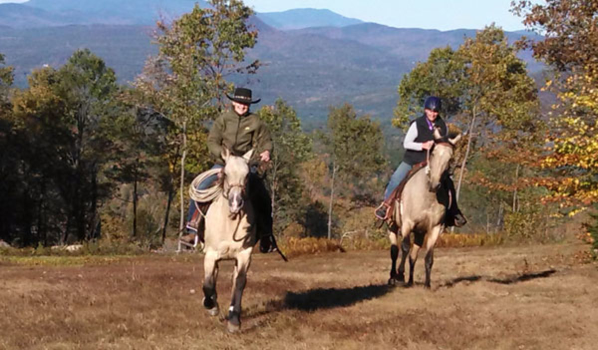 Credit: Patricia Morris, ESQ. New Hampshire recently raised the bar when it comes to a state effort to legislate the largesse of leavings on trails. Shown are the open fields at a New Hampshire State Park.