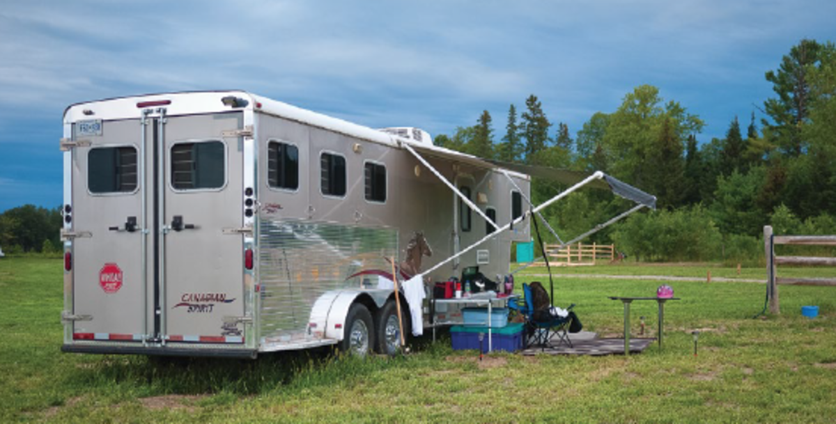 """Credit: Shawn Hamilton Photo """"At Horse Country, the campsites are so spread out that you rarely hear the goings-on of your camping neighbors,"""" notes Shawn Hamilton."""