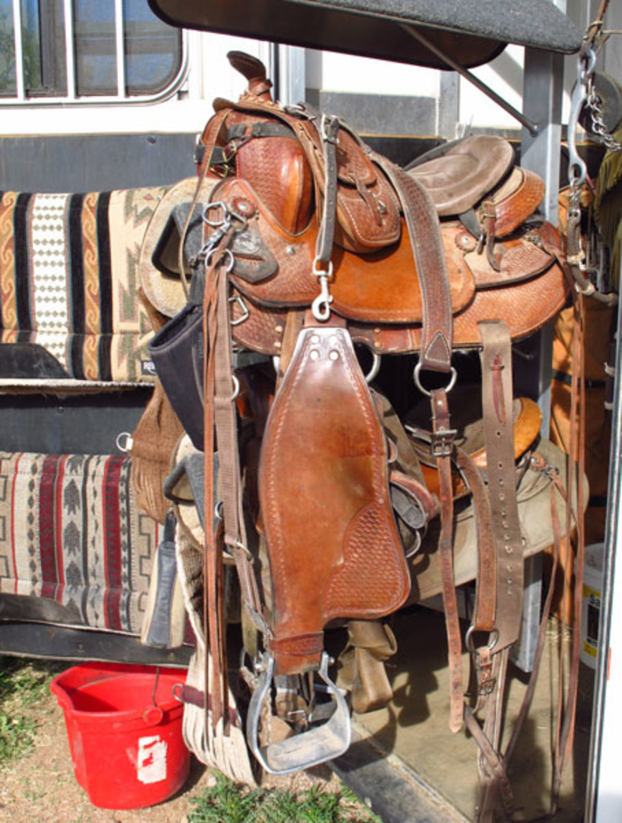 """For our Missouri Fox Trotters, we use Tennessean saddles,"""" say the Krones. """"We like these saddles because they're lightweight and are designed for gaited horses. They fit our horses perfectly."""""""