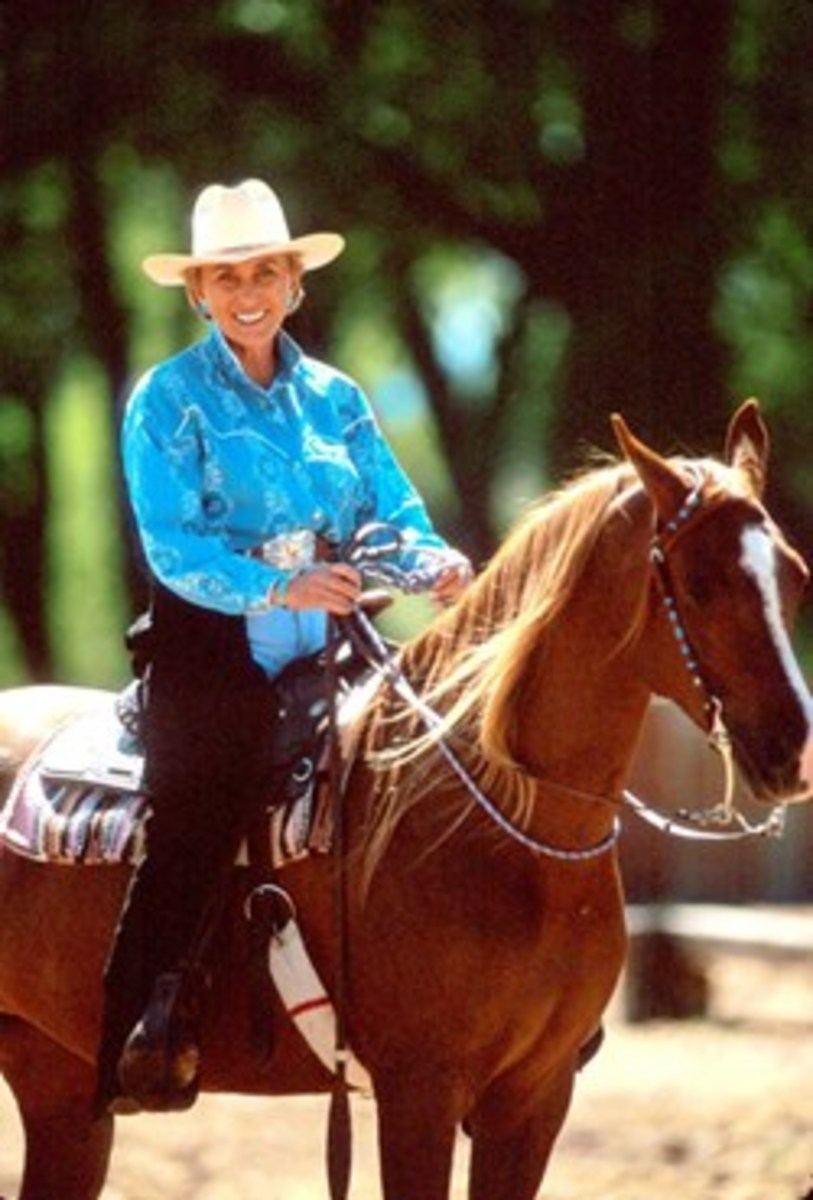 A calm, relaxed rider leads to a calm, relaxed horse. Here, top trainer Linda Tellington-Jones (shown) gives you in-saddle relaxation tips.