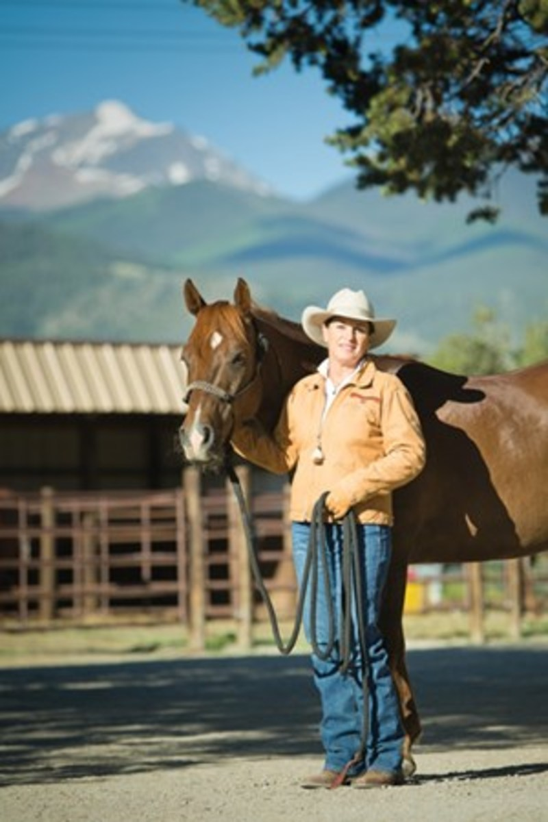 Read on as top trainer/clinician Julie Goodnight gives you three ground-work exercises to practice during the winter to help keep your trail horse sharp and focused on you as his herd leader.
