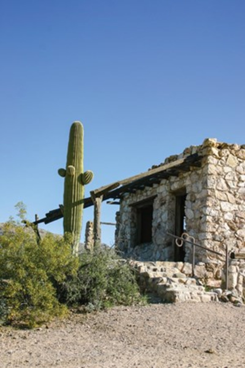 This historic building is part of the Old Homestead, where Tanque Verde's Breakfast Ride is held.