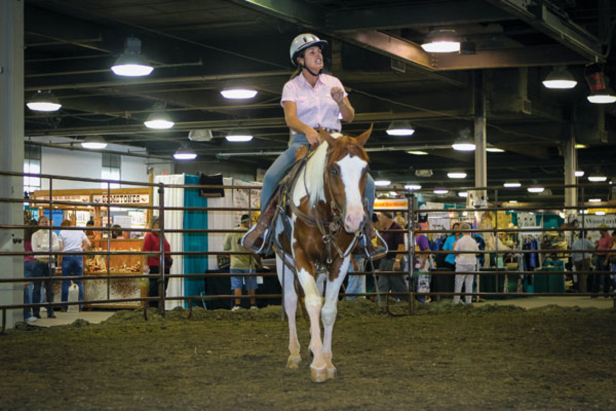 Attend a Julie Goodnight seminar at the upcoming Equine Affaire in Columbus, Ohio.